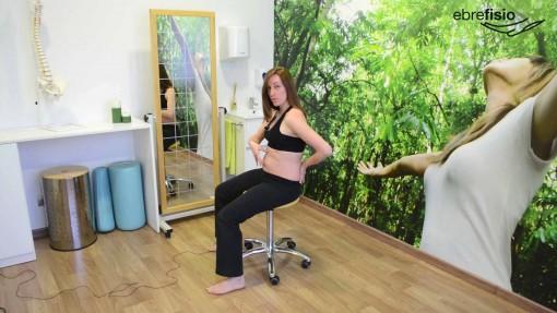 Activación transverso abdominal en retroversión