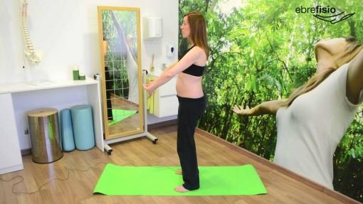 Activación transverso abdominal de pie en retroversión