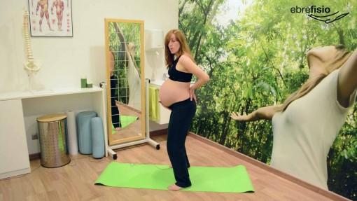 Anteversión de pelvis en el embarazo