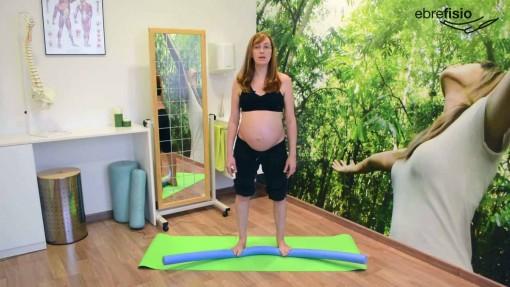 Ejercicios para los pies en el embarazo