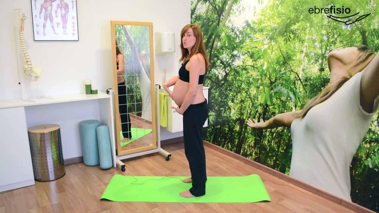 Ejercicios posturales para embarazadas