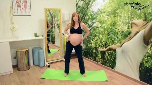 Movilizaciones laterales de pelvis en el embarazo